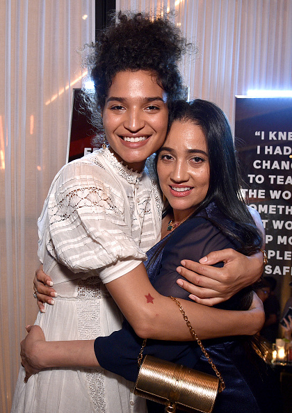 Baby Doll Dress「ELLE & Louis Vuitton Celebrate ELLE Cover Star Indya Moore At Diego At PUBLIC」:写真・画像(3)[壁紙.com]