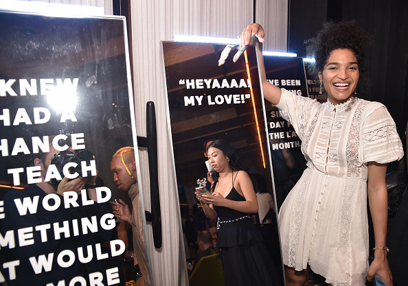 Baby Doll Dress「ELLE & Louis Vuitton Celebrate ELLE Cover Star Indya Moore At Diego At PUBLIC」:写真・画像(16)[壁紙.com]
