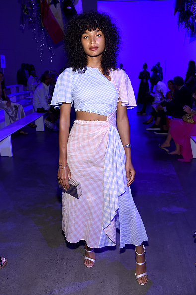 Spring Studios - New York「Prabal Gurung - Front Row - September 2019 - New York Fashion Week: The Shows」:写真・画像(8)[壁紙.com]