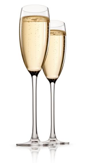 結婚「シャンパンでの乾杯」:スマホ壁紙(4)