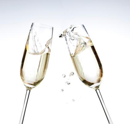 New Year「Champagne Toast」:スマホ壁紙(10)