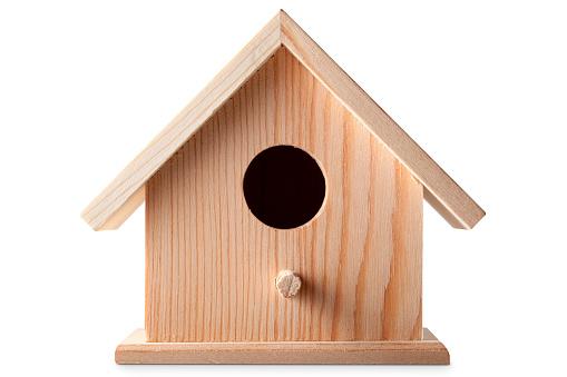 鳥の巣「巣箱」:スマホ壁紙(13)