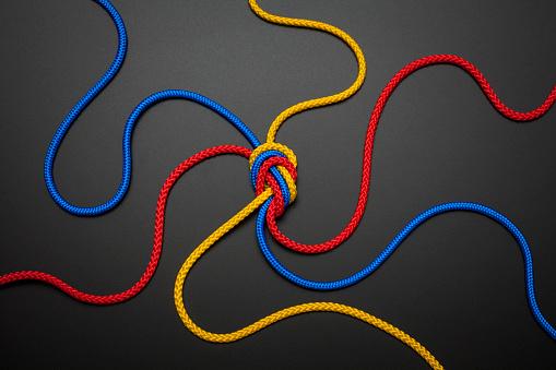 編み込み「Ropes」:スマホ壁紙(19)