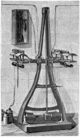 1870-1879「Pantelegraph invented by Giovanni Caselli」:スマホ壁紙(16)