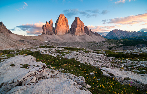 Dolomite「Tre Cime di Lavaredo - Drei Zinnen」:スマホ壁紙(18)