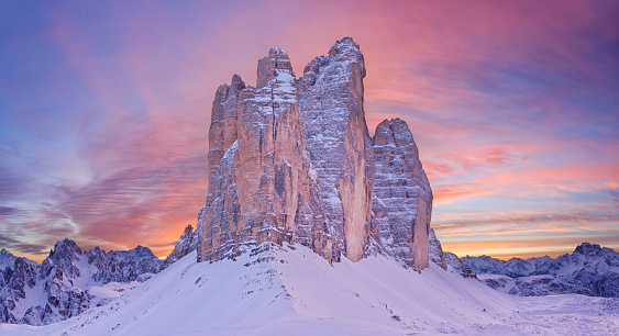 European Alps「Tre Cime di Lavaredo」:スマホ壁紙(16)