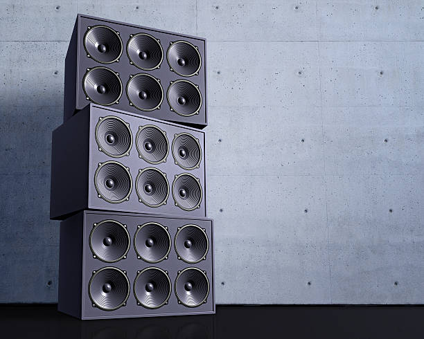 Stack of Loudspeakers:スマホ壁紙(壁紙.com)
