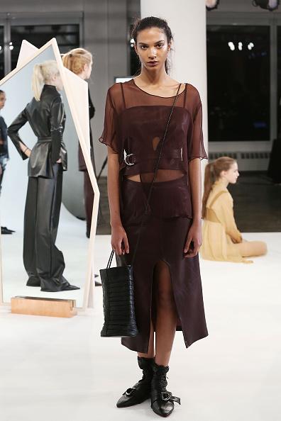 Leather Boot「Collina Strada - Presentation - MADE Fashion Week Fall 2015」:写真・画像(6)[壁紙.com]