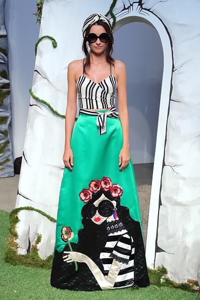 Maxi Skirt「Alice + Olivia By Stacey Bendet- Presentation - September 2016 - New York Fashion Week: The Shows」:写真・画像(18)[壁紙.com]
