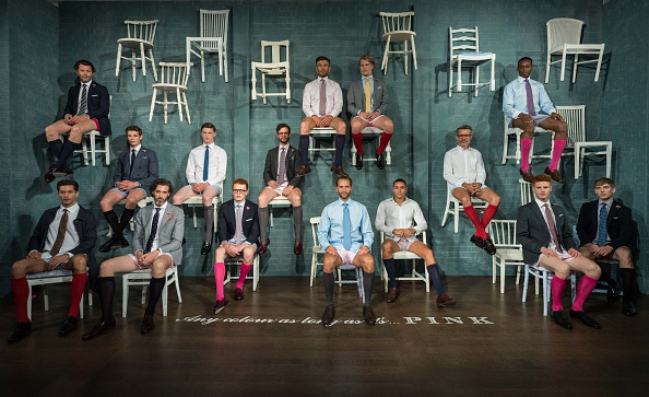 ロンドンファッションウィーク「Modern British Shirtmaker Thomas Pink Goes Back To Business With Spring Summer 2017 Collection, At London Collections Men」:写真・画像(16)[壁紙.com]
