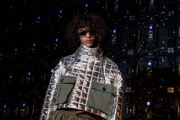 Waffled「Balmain : Photo Shoot - Paris Fashion Week Womenswear Fall/Winter 2021/2022」:写真・画像(7)[壁紙.com]