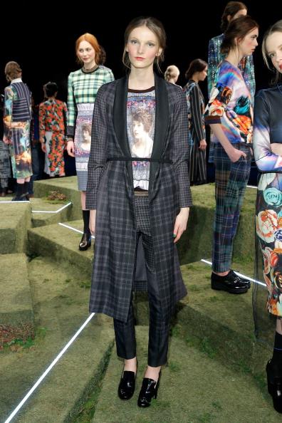 Skinny Belt「Clover Canyon - Presentation - Mercedes-Benz Fashion Week Fall 2014」:写真・画像(15)[壁紙.com]