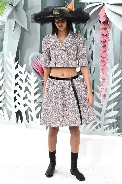 Chanel Jacket「Chanel : Runway - Paris Fashion Week - Haute Couture S/S 2015」:写真・画像(5)[壁紙.com]