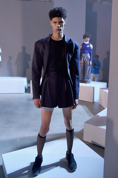 Bermuda Shorts「Raun Larose - Presentation - NYFW: Men's July 2017」:写真・画像(10)[壁紙.com]