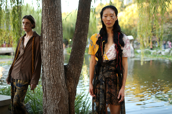 Chinese Garden of Friendship「Double Rainbouu - Runway - Mercedes-Benz Fashion Week Australia 2019」:写真・画像(3)[壁紙.com]