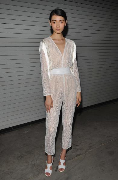 Sheer Fabric「Rachel Comey - Backstage - Mercedes-Benz Fashion Week Spring 2015」:写真・画像(18)[壁紙.com]