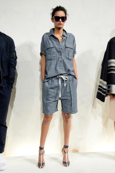 Striped Shorts「J.Crew - Presentation - Mercedes-Benz Fashion Week Spring 2015」:写真・画像(18)[壁紙.com]
