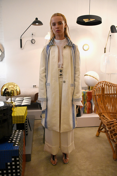 High Waist Pants「Haus Alkire - Presentation - September 2017 - New York Fashion Week」:写真・画像(11)[壁紙.com]