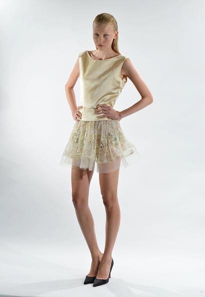 Flared Skirt「David Tlale - Presentation - Mercedes-Benz Fashion Week Spring 2014」:写真・画像(11)[壁紙.com]