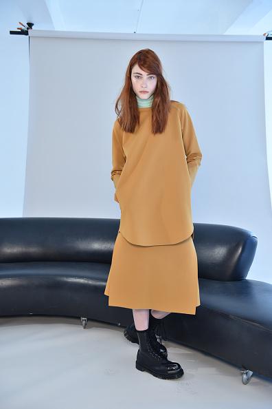 Pocket Dress「Organic By John Patrick - Presentation - Mercedes-Benz Fashion Week Fall 2015」:写真・画像(0)[壁紙.com]