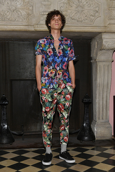 Foliate Pattern「Palmiers Du Mal - Presentation - NYFW: Men's July 2017」:写真・画像(2)[壁紙.com]