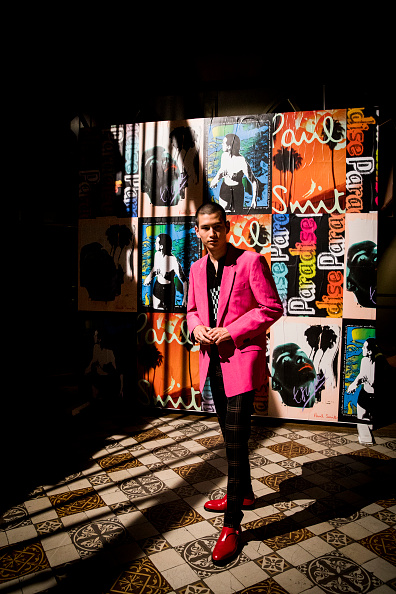 Tristan Fewings「Paul Smith : Backstage - Paris Fashion Week - Menswear Spring/Summer 2019」:写真・画像(10)[壁紙.com]