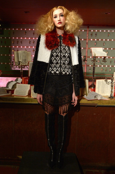 Leather Boot「alice + olivia by Stacey Bendet Fall 2014 NYFW Presentation」:写真・画像(12)[壁紙.com]