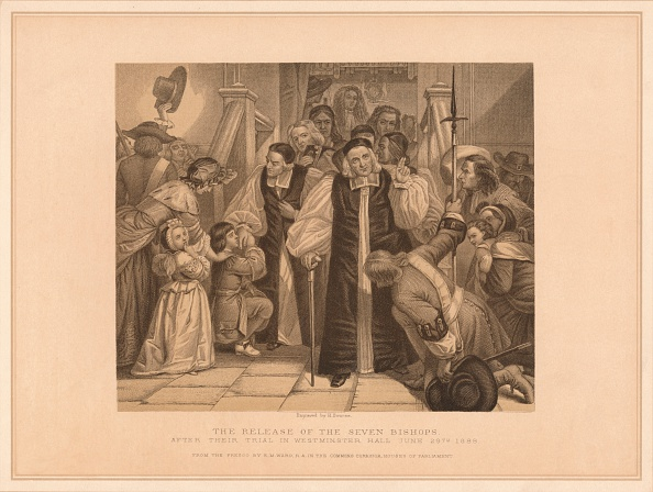 17th Century「The Release of the Seven Bishops, 1688 (1878)」:写真・画像(5)[壁紙.com]