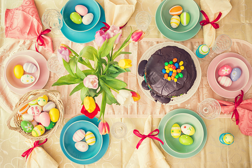 Easter Cake「Easter Table」:スマホ壁紙(18)