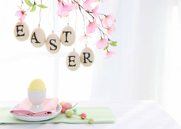 Easter table:スマホ壁紙(壁紙.com)