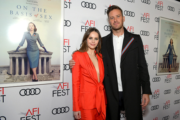 Armie Hammer「AFI FEST 2018 Presented By Audi - Opening Night World Premiere Gala Screening Of 'On The Basis Of Sex' - Red Carpet」:写真・画像(9)[壁紙.com]