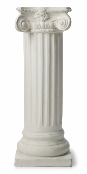 Architectural Column「Ionic Greek Column or Pedestal」:スマホ壁紙(11)