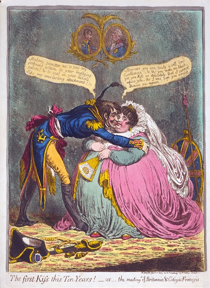 Shallow「The First Kiss This Ten Years! Or The Meeting Of Britannia & Citizen Francois」:写真・画像(15)[壁紙.com]