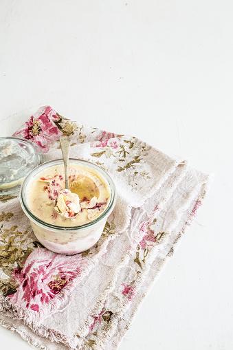 アイスクリーム「Pot of fig Ice-cream」:スマホ壁紙(1)