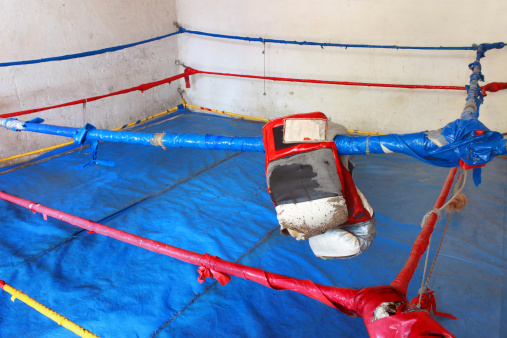 Boxing Ring「Old and simple box ring」:スマホ壁紙(19)