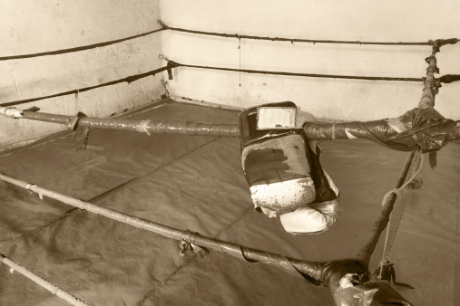 Boxing Ring「Old and simple box ring」:スマホ壁紙(11)