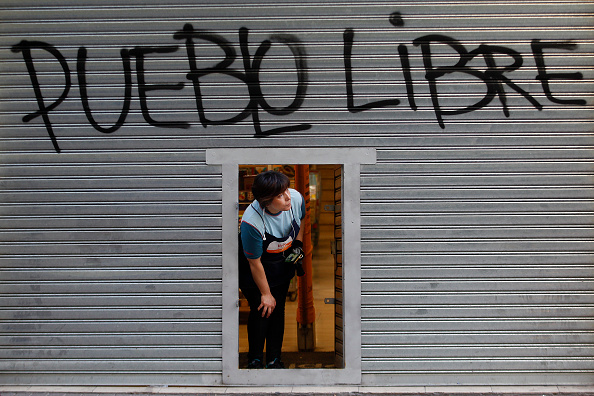 Graffiti「National Strike And Demonstrations Called By Trade Unions」:写真・画像(18)[壁紙.com]