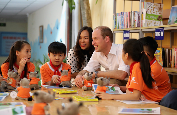 Environmental Conservation「The Duke Of Cambridge Visits Vietnam - Day 1」:写真・画像(5)[壁紙.com]