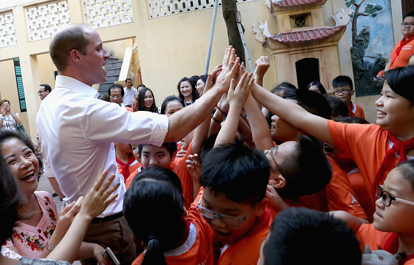 Environmental Conservation「The Duke Of Cambridge Visits Vietnam - Day 1」:写真・画像(2)[壁紙.com]