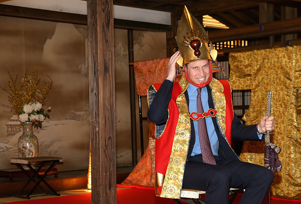 Tradition「The Duke Of Cambridge Visits Japan - Day 3」:写真・画像(17)[壁紙.com]