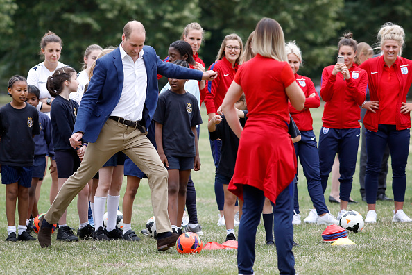 Tristan Fewings「The Duke Of Cambridge Hosts A Good Luck Send Off For The England Women Football Team」:写真・画像(5)[壁紙.com]