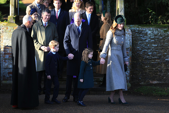 出席する「The Royal Family Attend Church On Christmas Day」:写真・画像(0)[壁紙.com]