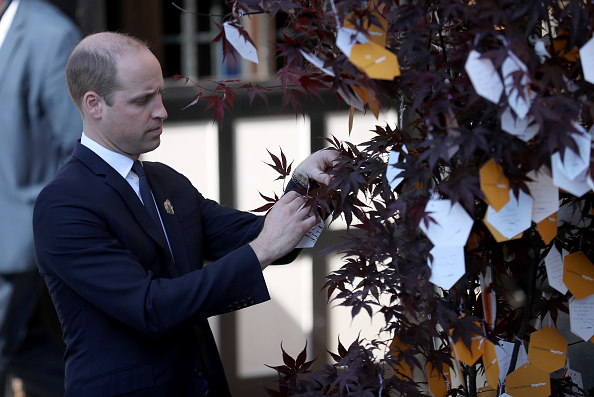 Japanese Maple「Duke Of Cambridge Pays Tribute To The Manchester Arena Bombing Victims One Year On」:写真・画像(5)[壁紙.com]