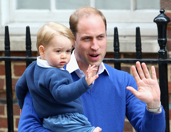 Prince George of Cambridge「The Duke And Duchess Of Cambridge Welcome A Daughter」:写真・画像(12)[壁紙.com]