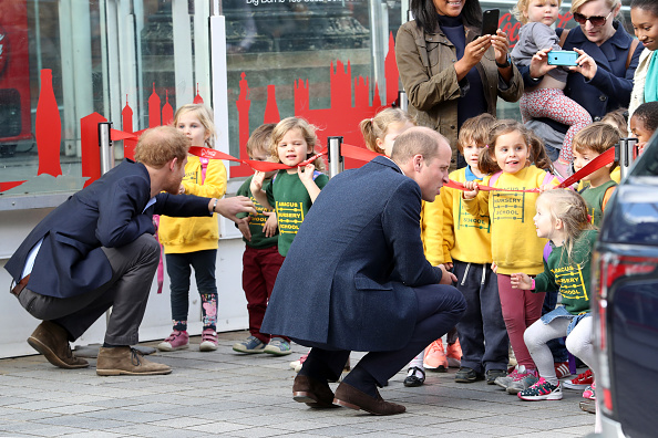 対面「The Duke & Duchess Of Cambridge And Prince Harry Celebrate World Mental Health Day At The London Eye With Heads Together」:写真・画像(3)[壁紙.com]