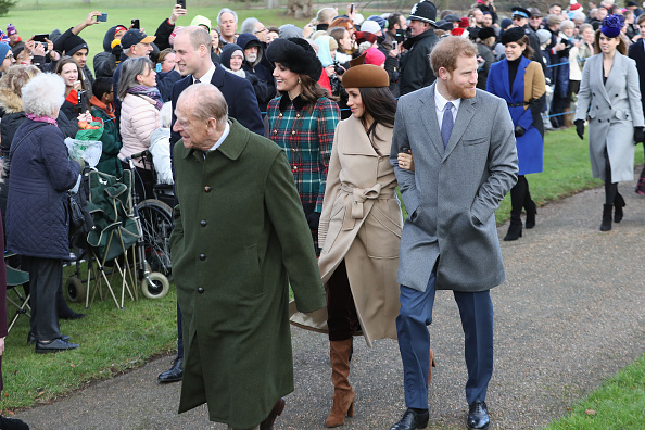 Christmas「Members Of The Royal Family Attend St Mary Magdalene Church In Sandringham」:写真・画像(3)[壁紙.com]