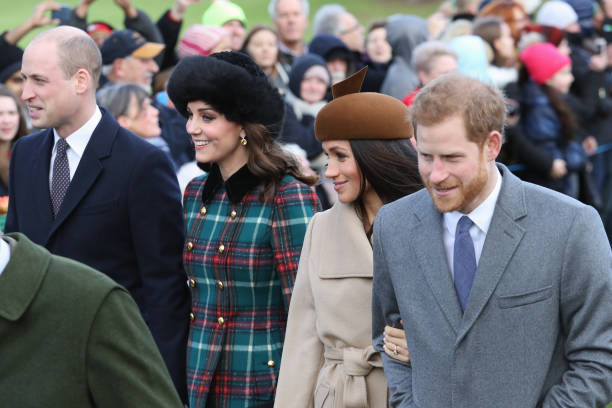 Members Of The Royal Family Attend St Mary Magdalene Church In Sandringham:ニュース(壁紙.com)