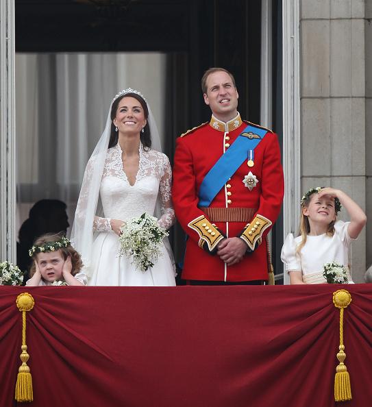 Grace van Cutsem「Royal Wedding - The Newlyweds Greet Wellwishers From The Buckingham Palace Balcony」:写真・画像(13)[壁紙.com]