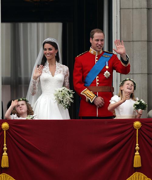 Grace van Cutsem「Royal Wedding - The Newlyweds Greet Wellwishers From The Buckingham Palace Balcony」:写真・画像(8)[壁紙.com]