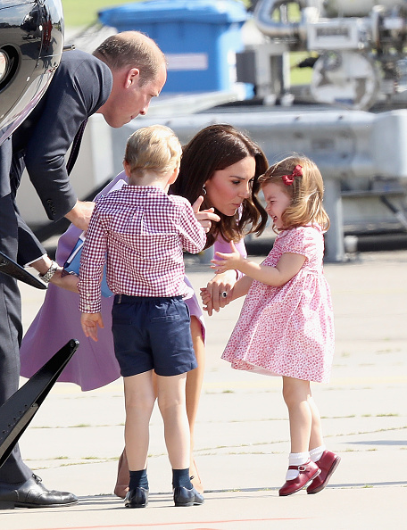 Hamburg - Germany「The Duke And Duchess Of Cambridge Visit Germany - Day 3」:写真・画像(5)[壁紙.com]